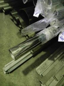 Труба нержавеющая 42,4х1,5 tig 600G полир AISI 201