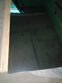 Лист нержавеющий 0,5 мм 1х2м 2B 430 матовый