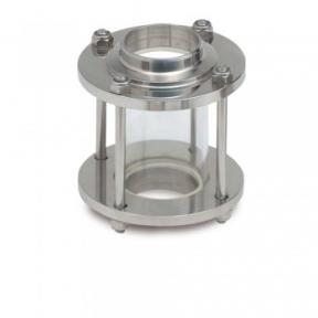 Диоптр трубный здвоєний (код 5153) ДН65  S-S  AISI 304/304L
