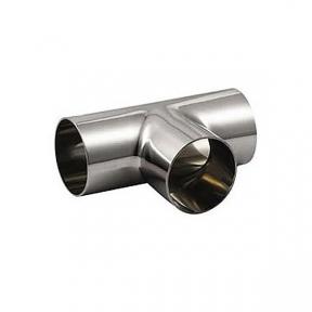Тройник  88,9 короткий 2,0 мм,  AISI 304/304L
